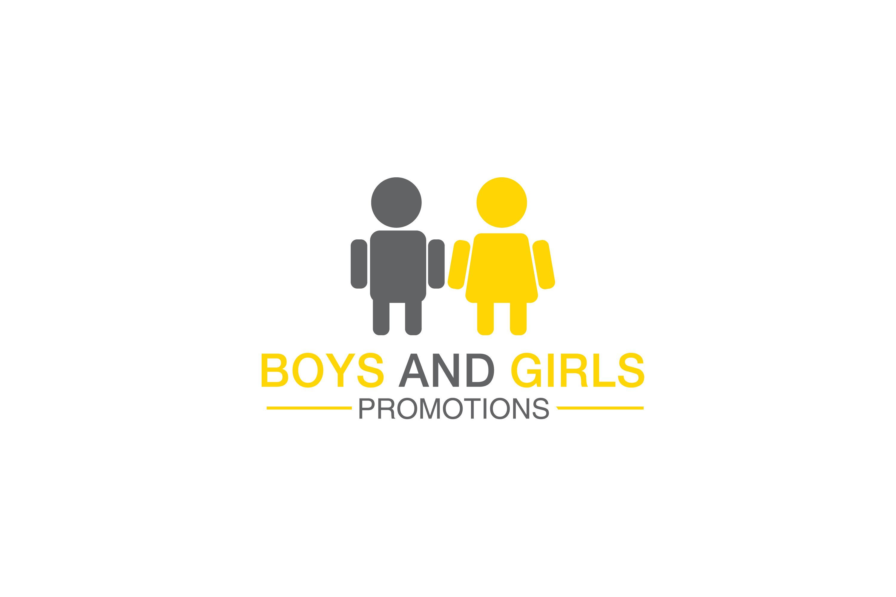 An image of the boys and girls promotions logo a second version