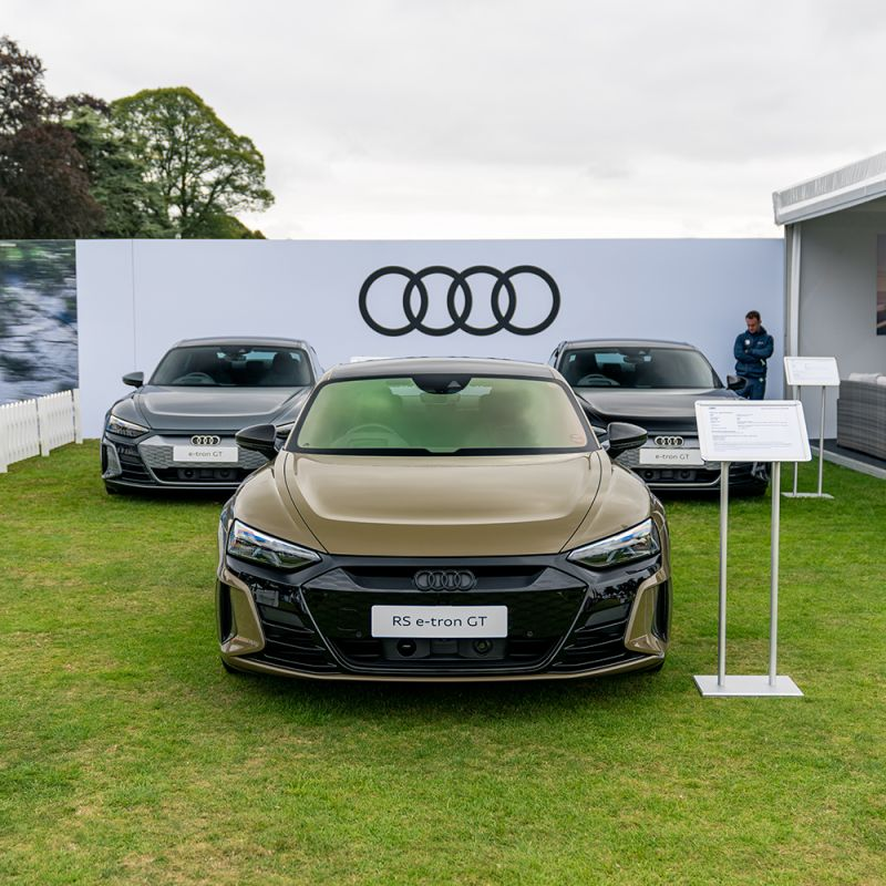 Cars - Salon prive event working for Audi